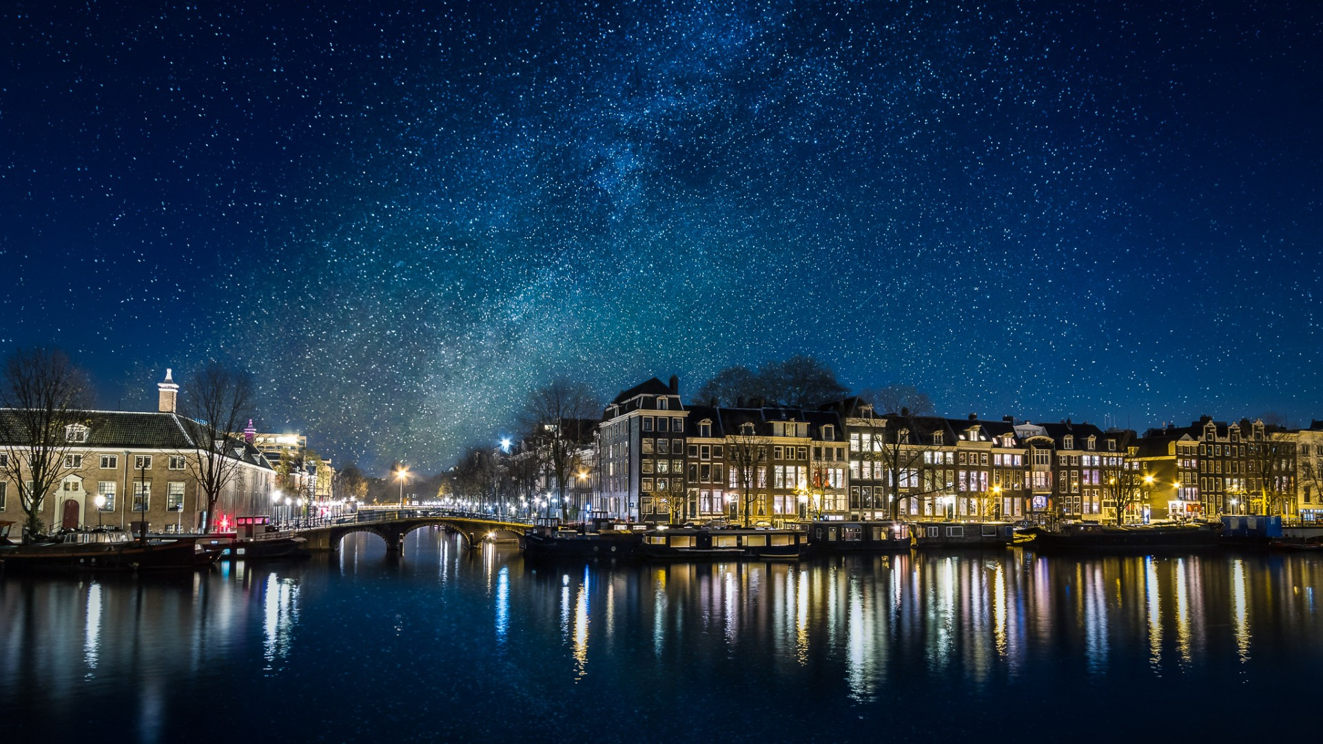 What Would it be like to see the Milky Way over Amsterdam?