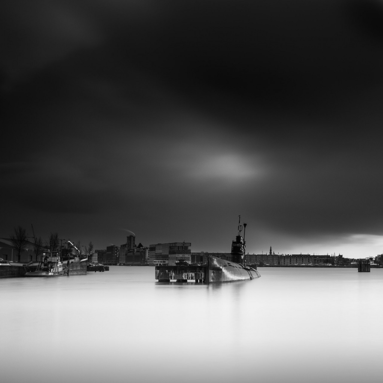 Black and White Long Exposures